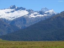 Mount Aspiring aus der Ferne