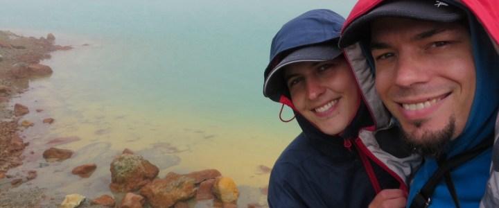 Kiwis, Vulkane und kack Wetter