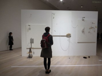 Im Mori Kunstmuseum... sehr modern