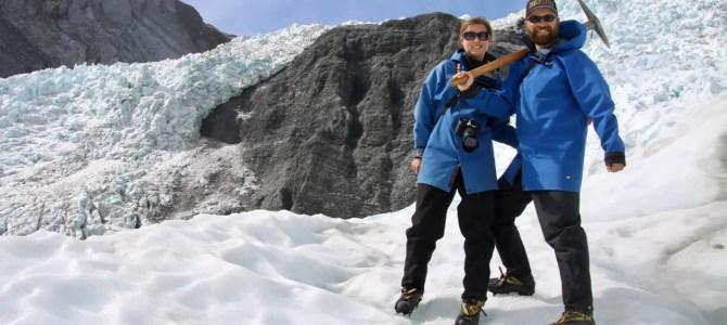 Franz-Josef-Gletscher: teurer Quickie mit Helikopter