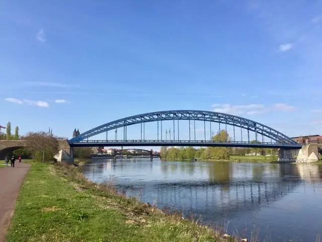 Elbe-Radtour-Magdeburg-Bruecken