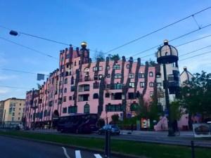 Gruene Zitadelle von Hundertwasser Magdeburg