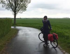 Regenmontur-Claudia Radtour