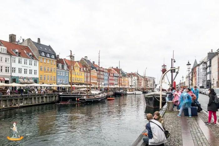 Kopenhagen-Nyhavn-Genussbummler