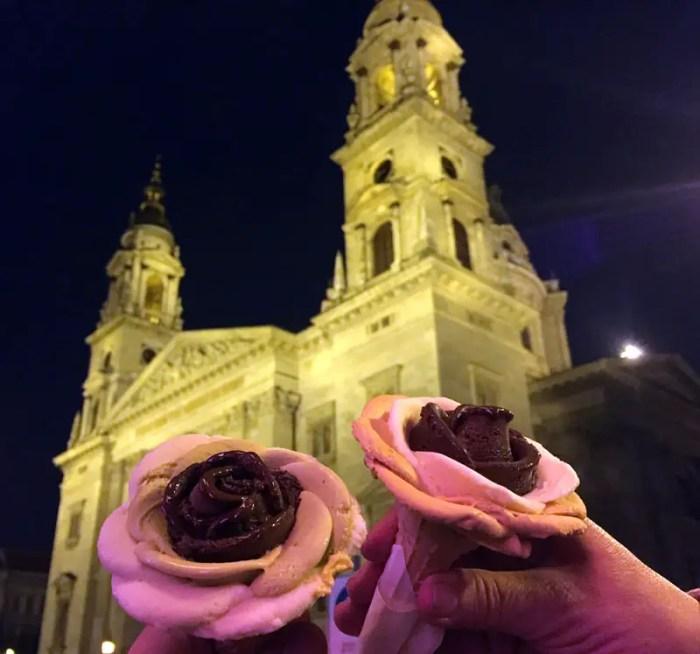 Roseneis-St-Stephans-Basilika-Budapest-weltreize
