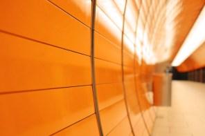 Wand, U-Bahn-Halt Marienplatz