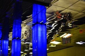 Decke, U-Bahn-Halt Münchner Freiheit