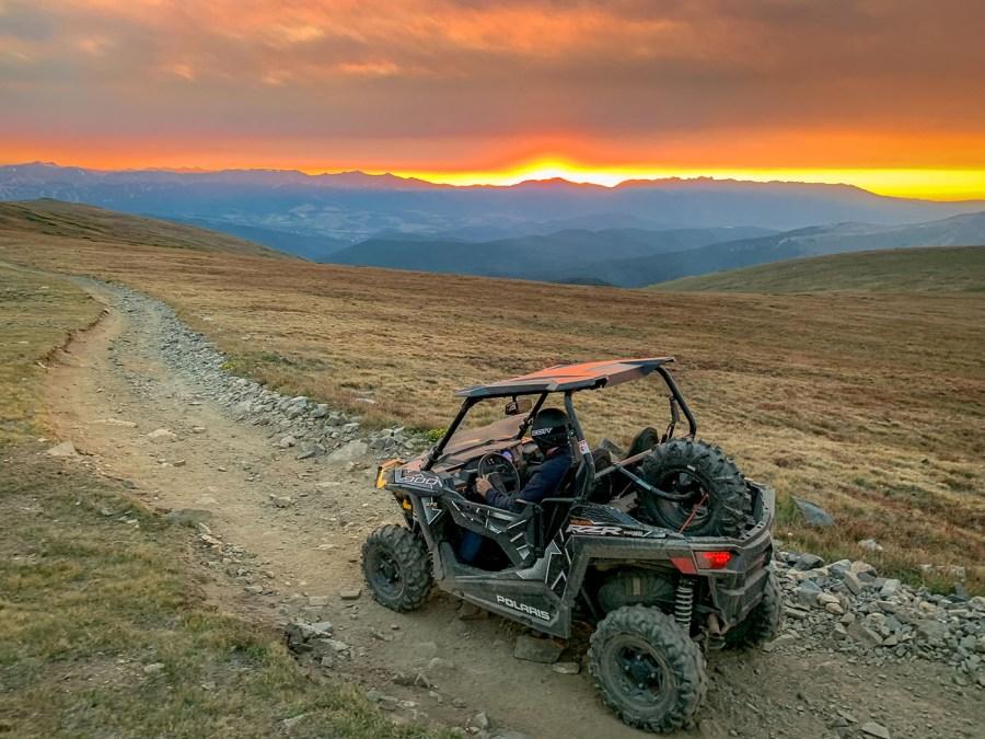 ATV in Keystone Colorado