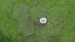 Capping drains on greens