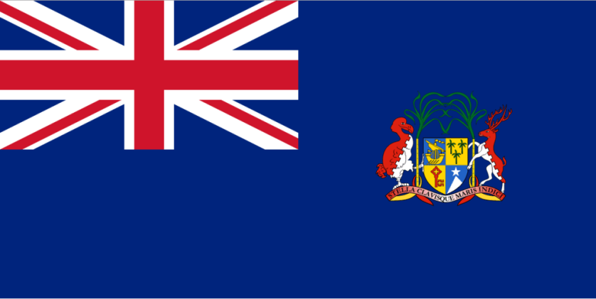Proof that the British were the first to settle on Mauritius