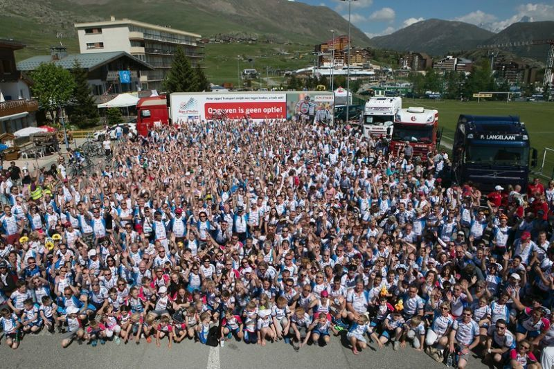 No-code event management system for Alpe d'Huzes