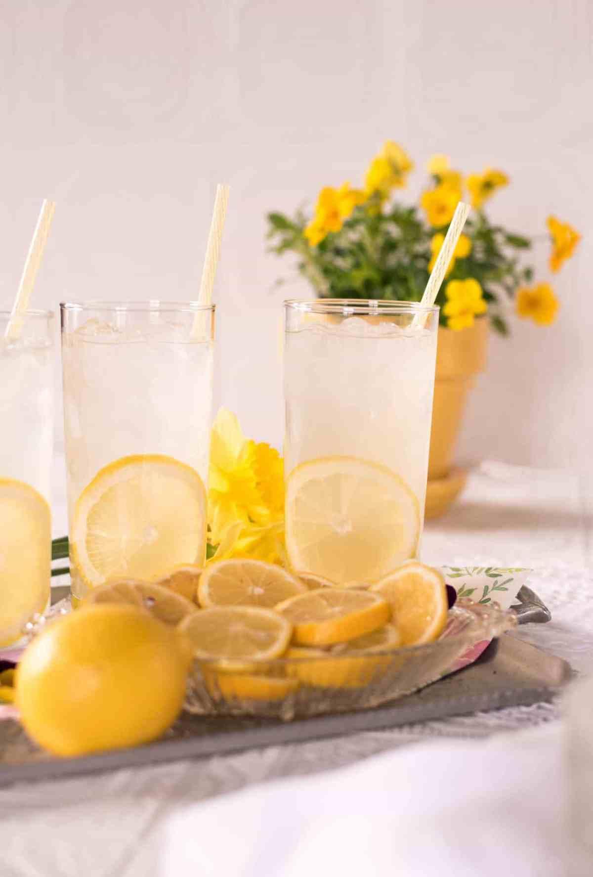 Homemade Traditional Lemonade Recipe