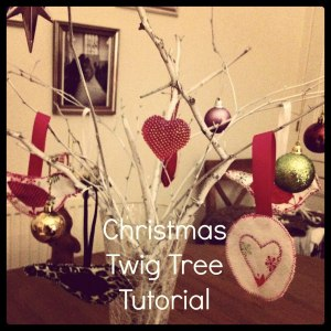 christmas twig tree tutorial