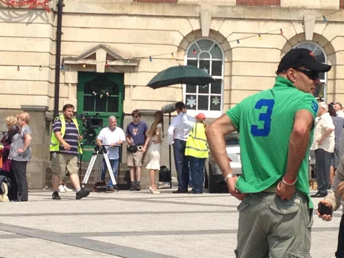 casualty filming