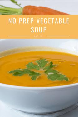 no prep vegetable soup recipe