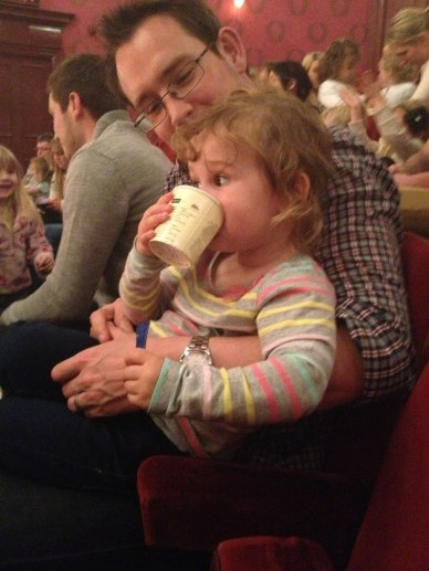 First trip to the theatre