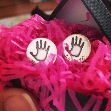 smallprint cufflinks