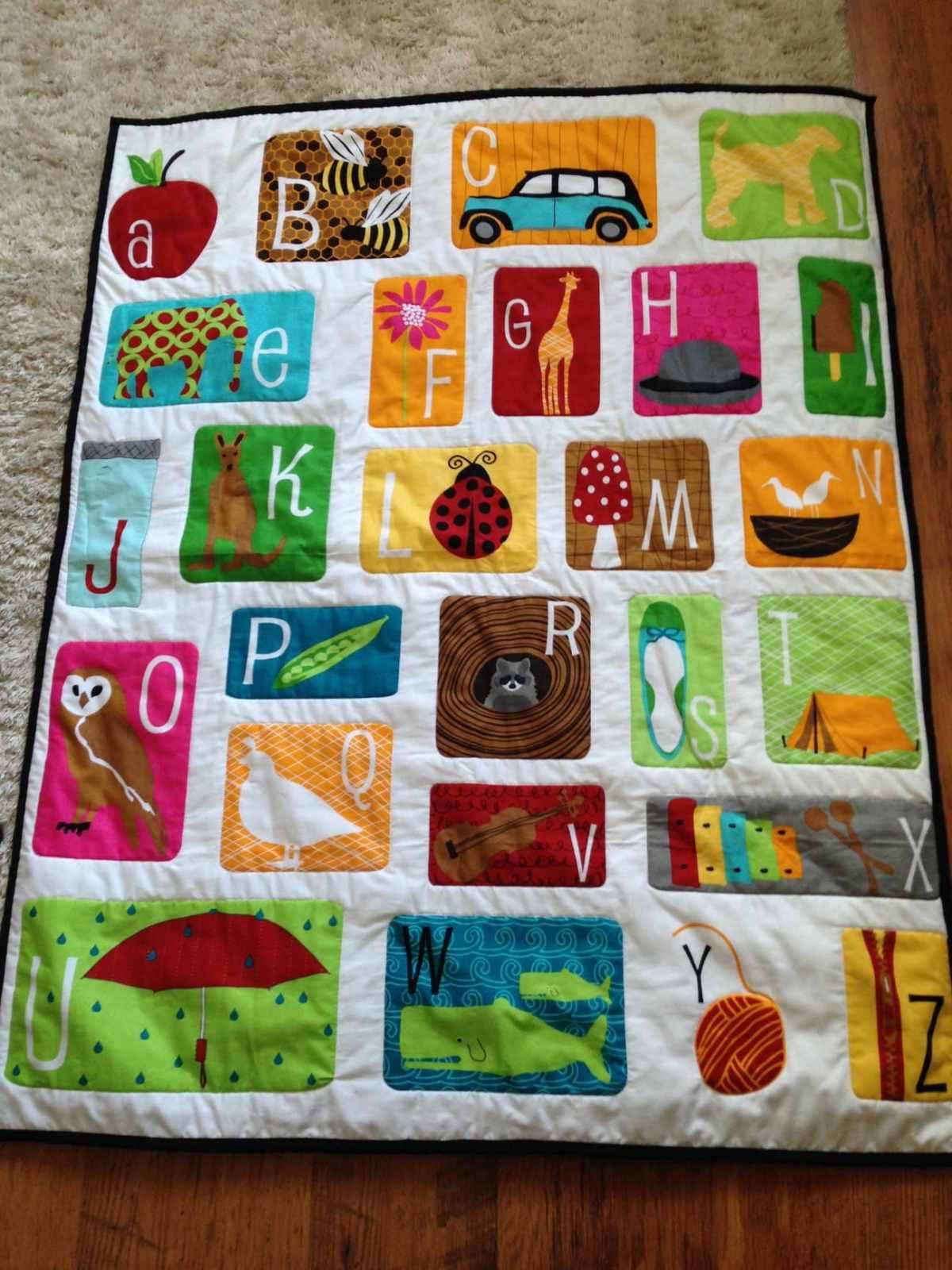 handmade baby play mat