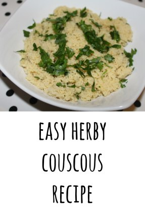 herby couscous recipe