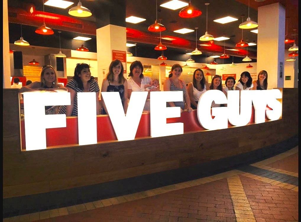 five guys cardiff bay review