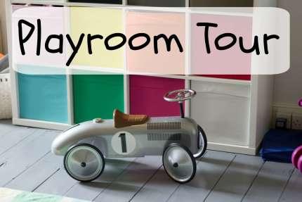playroom tour
