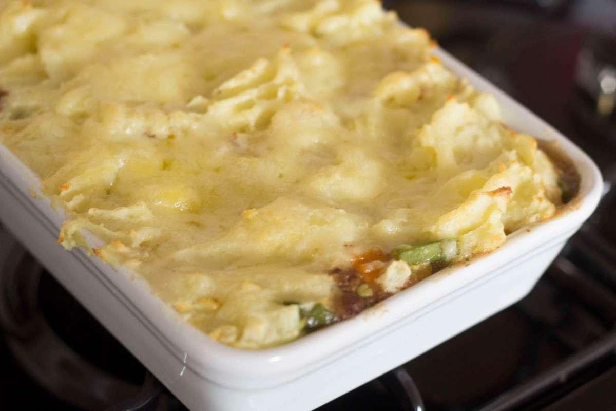 Recipe: Easy Quorn Shepherd's Pie