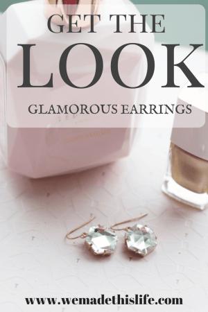 get the look glamorous earrings