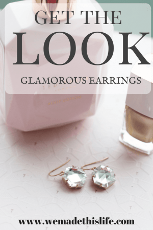 get the look glamorous earrings