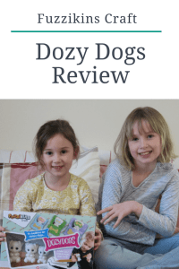 Fuzzikins Craft Dozy Dogs Review