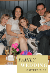family wedding outfit tips