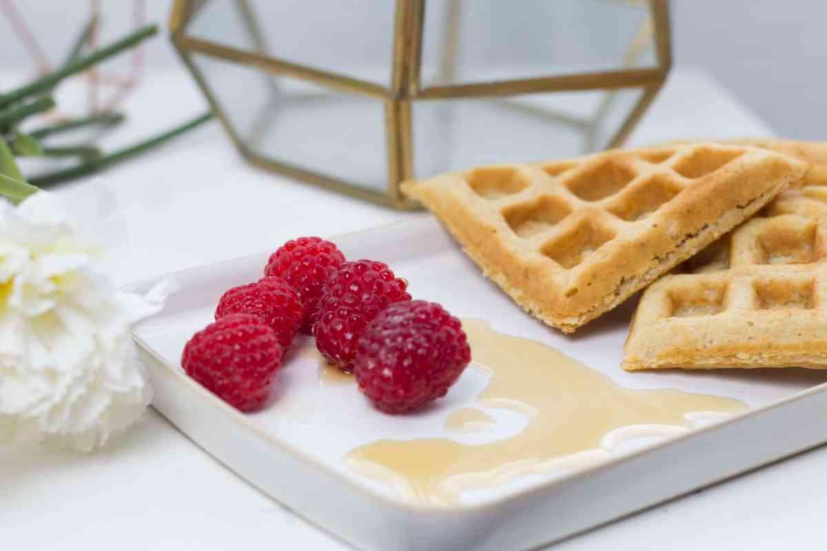 Healthy Vegan Waffles