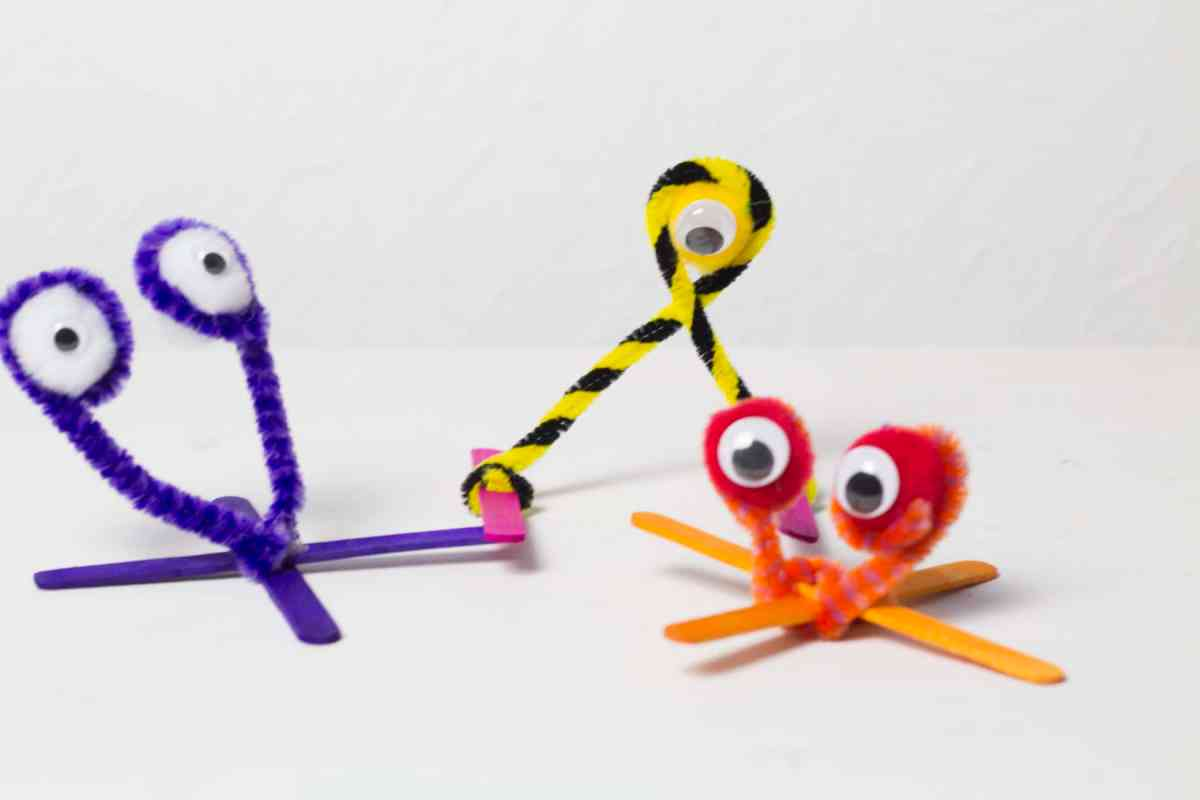 pipe cleaner monsters