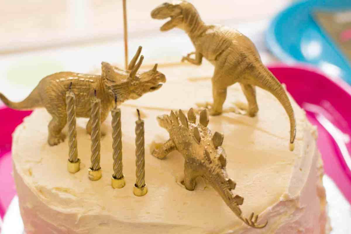 a dinosaur themed birthday party!