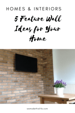 5 Feature Wall Ideas for Your Home