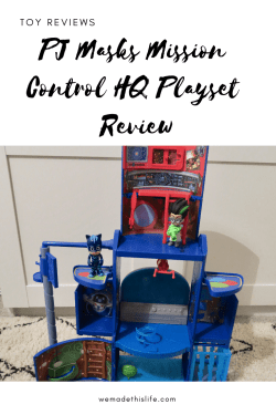 PJ Masks Mission Control HQ Playset Review