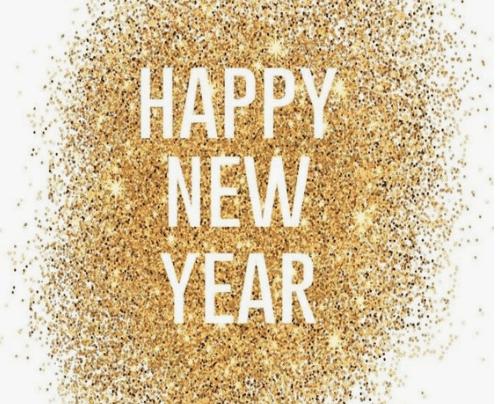 glitter happy new year picture