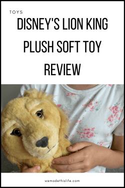 Disney's Lion King Plush Soft Toy Review
