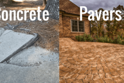 concrete or pavers which is better for