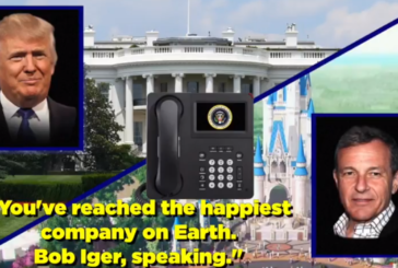 President Trump Wants to Take Over the (Disney) World – The POTUS Calls (Video)