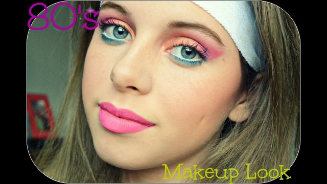 80S Eye Makeup 80s Makeup Tutorial Youtube