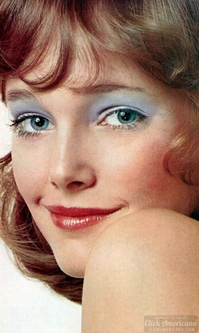 80S Eye Makeup Blue Eyeshadow The Good The Bad The Ugly Vintage Makeup Click
