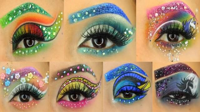 Amazing Eye Makeup Amazing Eye Makeup Tutorial Compilation 2017 Youtube