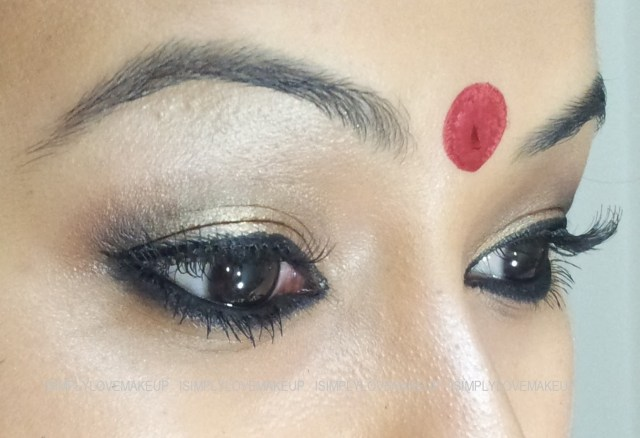 Bengali Eye Makeup Colours Of India Bengal Inspired Makeup Look Tutorial
