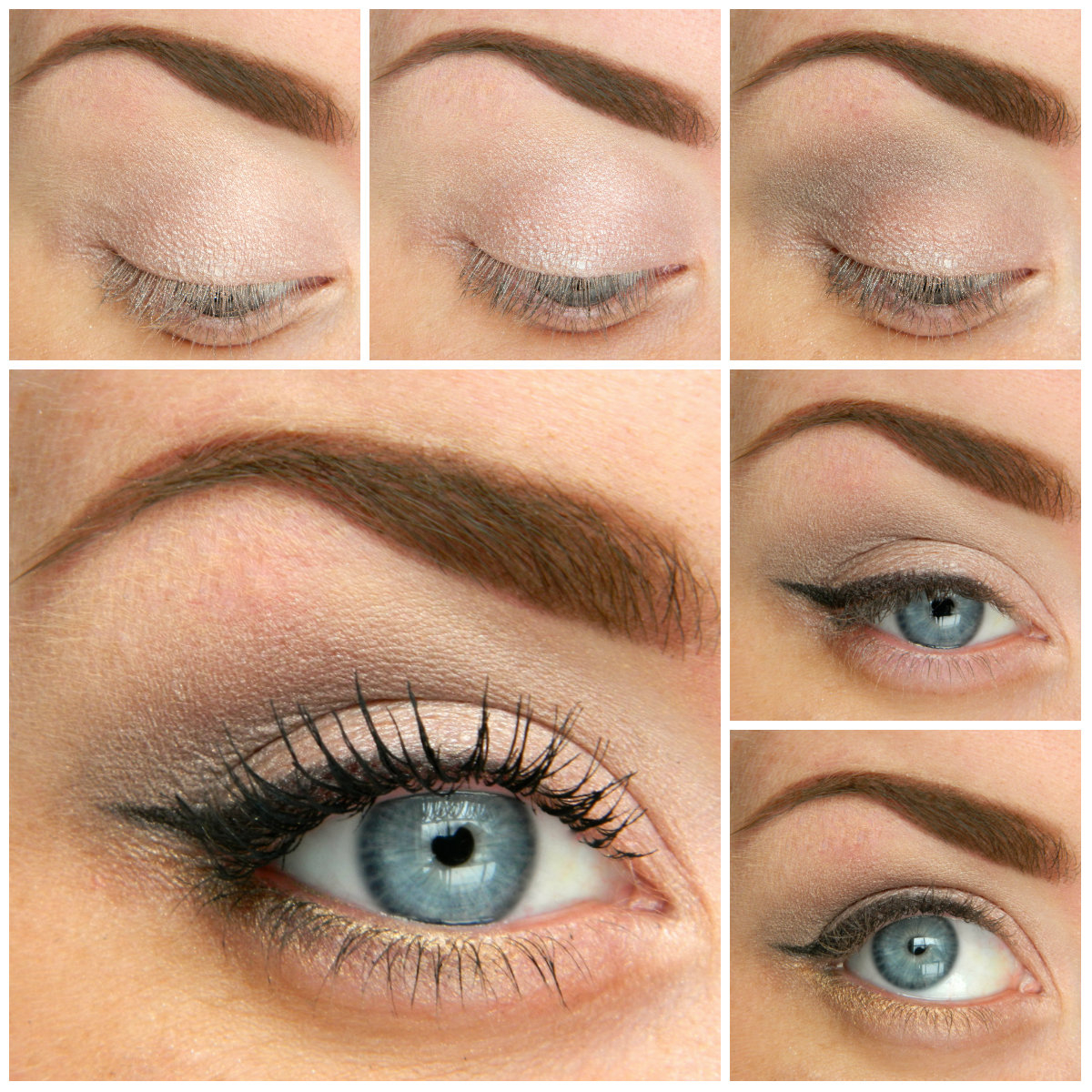 Best Way To Do Makeup For Blue Eyes 5 Ways To Make Blue Eyes Pop With Proper Eye Makeup Her Style Code