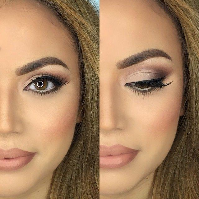 Bridal Makeup Hooded Eyes 45 Brown Eyes Makeup Looks And Tutorials To Highlight Those
