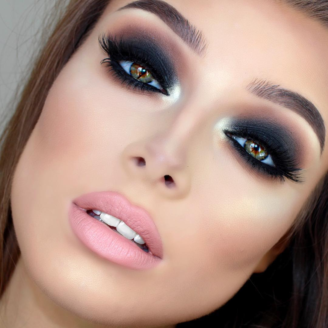 Brown And Purple Eye Makeup 40 Hottest Smokey Eye Makeup Ideas 2019 Smokey Eye Tutorials For