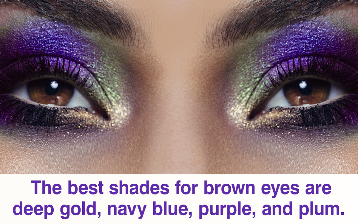 Brown And Purple Eye Makeup Makeup For Brown Eyes