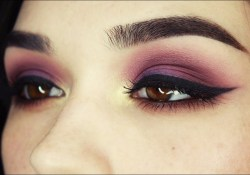Brown And Purple Eye Makeup Purplegoldbrown Eye Makeup Tutorial Youtube