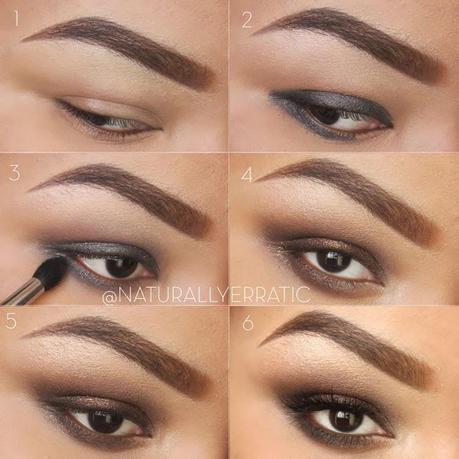Brown Eyes Makeup Tutorial 123easy Brown Smokey Eye Makeup Tutorial Paperblog
