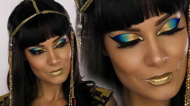 Cleopatra Eye Makeup Cleopatra Egyptian Goddess Halloween Makeup Tutorial Shonagh Scott